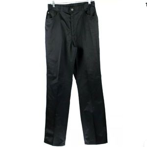 Vintage Gitano High Waist Black Pants Size 14